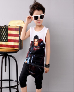 2-7 years baby (kids) boys fashion or toddlers casual white SUPERMAN T-Shirt+ SUPERMAN Cape baggy pants Islamabad online shop
