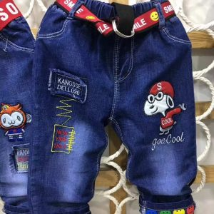 1-6 years stylish denim jeans - EIH