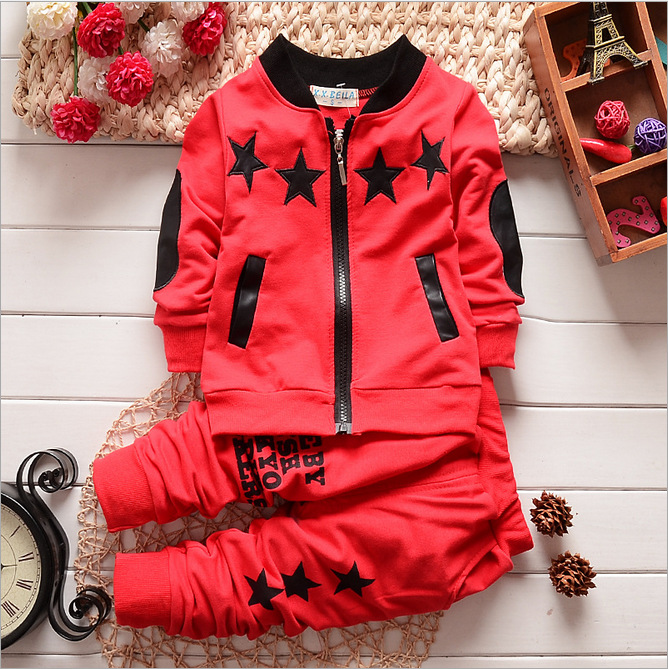 28-1 Spring and Autumn New Boy Zipper Cardigan Long Sleeve Sports ... 57754e1f205