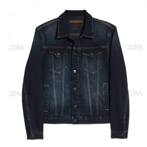 1-10 years new winter arrivals imported dark blue denim upper Denim jeans jacket for your beautiful kids-retail